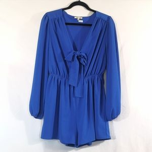 Blue Romper, Playsuit Size L